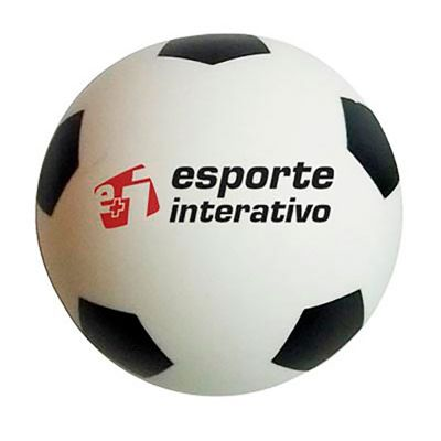 Bolas anti-stress Personalizada Futebol | Bolinha anti stress personalizada, no formato de bola de futebol. É o brinde personalizado ideal para seu ev... - Energia Brindes