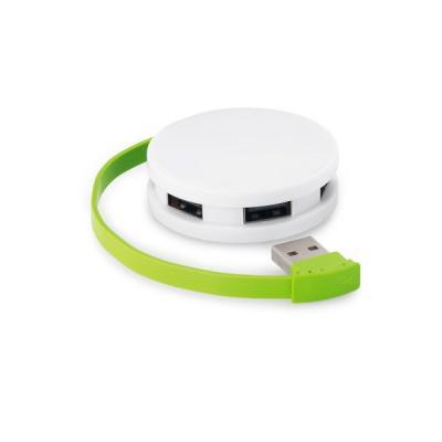 Energia Brindes - Hub USB Colorido Personalizado