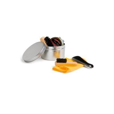 Kit caixa de Engraxar e Polimento de Sapato Personalizado - Energia Brindes