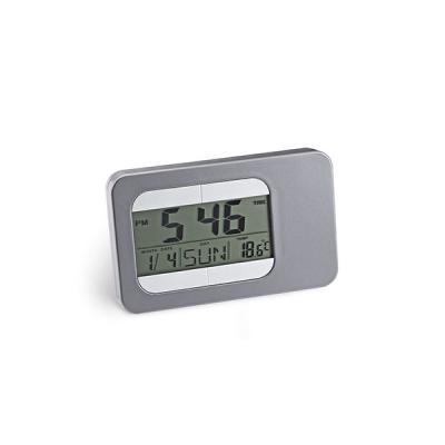 energia-brindes - Relógio de Mesa com Alarme para Brindes