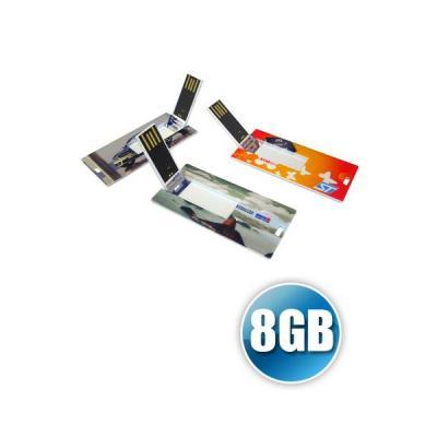 Energia Brindes - Pen card 8GB | Pen Card com capacidade de 8GB Personalizado. Em formato de mini cartão com impressão digital da logomarca. Entregamos o produto em tod...