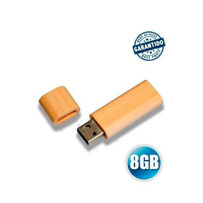 Pen drive 8 GB de Bambu Personalizado