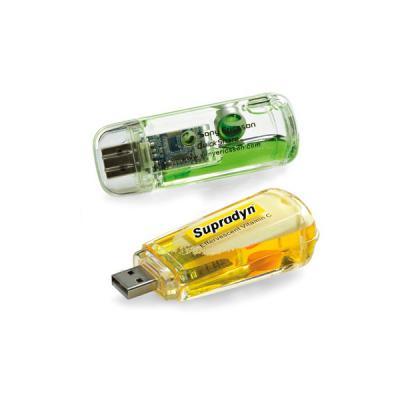 Pen drive com Liquido Personalizado - Energia Brindes