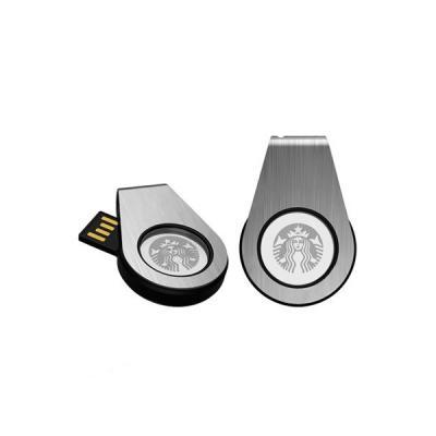 Energia Brindes - Pen Drive Personalizado Giratório