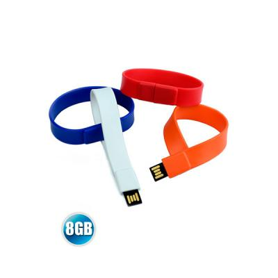 energia-brindes - Pulseira Pen Drive 8GB
