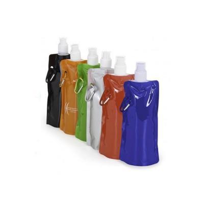energia-brindes - Squeeze de Plástico Dobrável Promocional