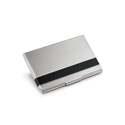 Energia Brindes - Porta Cartão de Visita Aluminio para Brindes