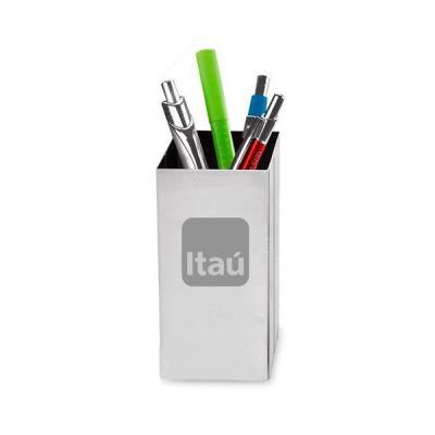 Porta Lapis e Caneta Personalizado - Energia Brindes