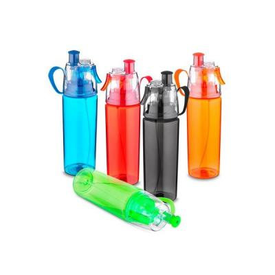 Garrafa Plástica com Spray Personalizado - Energia Brindes