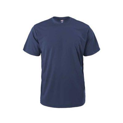 Camiseta meia malha algodão gola careca - Rose Sacolas