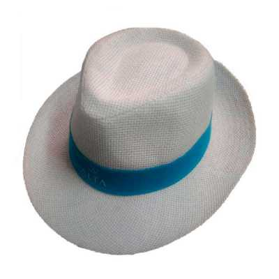 Chapéu Tipo Panamá Branco Social - Rose Sacolas