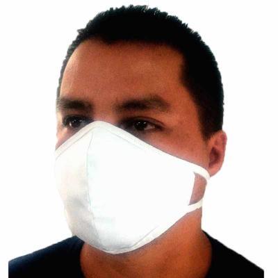 Máscara em tricoline
