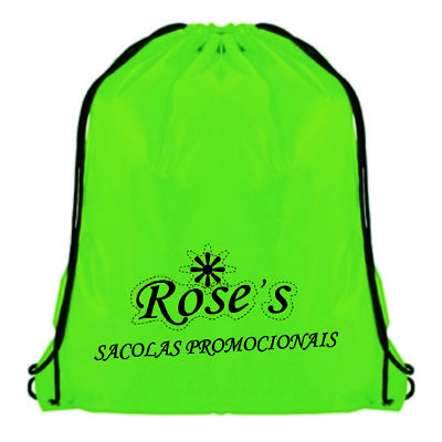 Rose Sacolas - Sacola mochila
