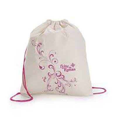rose-sacolas - Sacola mochila
