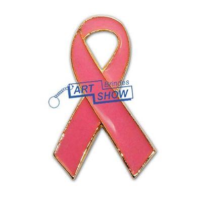art-show-brindes - Pin laço outubro rosa
