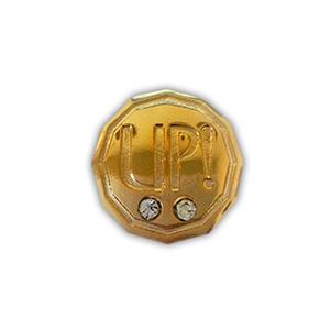 art-show-brindes - Pin personalizado, confeccionado em metal, com gravação do logo em alto ou baixo relevo, aplicação de strass, recorte especial, resinado, esmaltado, o...