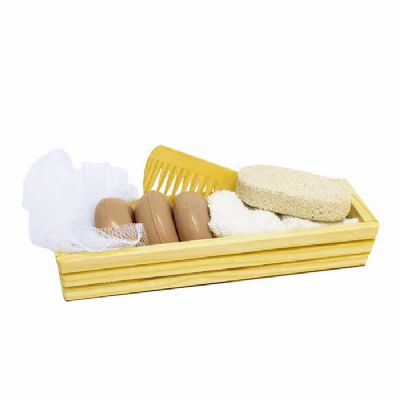 Kit banho básico Natura - 7 peças - Make Brazil