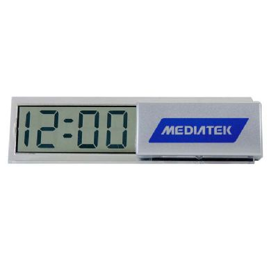 make-brazil - Relógio LCD de mesa personalizado