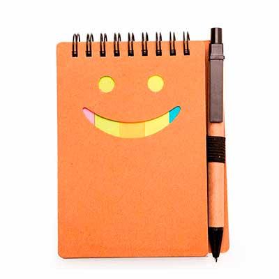 make-brazil - Bloco de anotação ecológico com caneta de papelão
