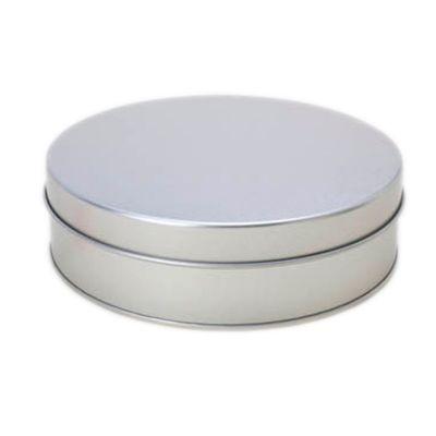 make-brazil - Caixa metálica redonda.