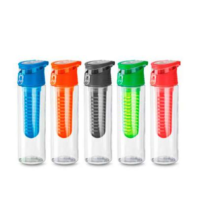 btm-brindes - Squeeze de plástico com filtro e tampa com alça  Capacidade 750 ml  Medidas: 25 x 7  Peso do produto: 165Gr  Qtde por Caixa: 60pçs / Medidas da Caixa:...