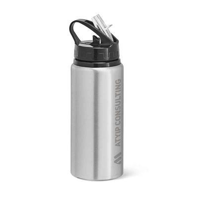 Squeeze. Alumínio e PP. Capacidade até 670 ml. Food grade. Caixa branca 94652 vendida opcionalmen...