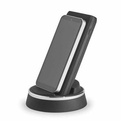 A THINK é uma versátil bateria portátil com uma base de carregamento em ABS e PC que permite simu...