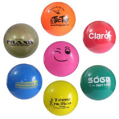 Bolas personalizadas com duas opções - BTM Brindes