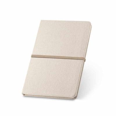 Caderno capa dura. Esferográfica não inclusa. Linho 230 g/m². Cantos redondos. 96 folhas pautadas...
