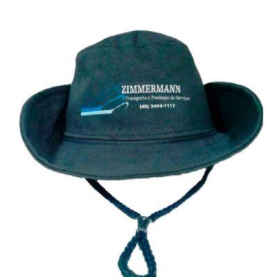 btm-brindes - Chapéu de brim