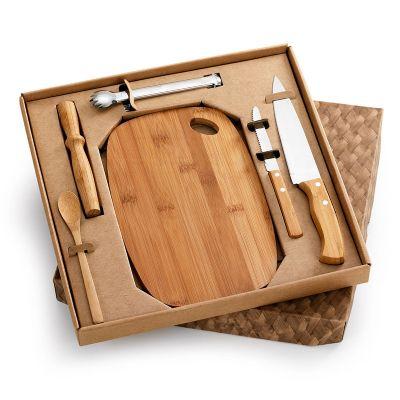 Kit bar 06 peças com faca 7
