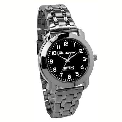 btm-brindes - Relógio de pulso com caixa em liga