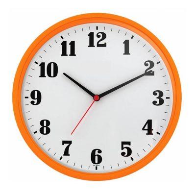 Relógio de parede Quartz estilo moderno  - base de plástico injetado e visor de acrílico  - Medidas: 26x26x4 cm - Cores conforme imagem.