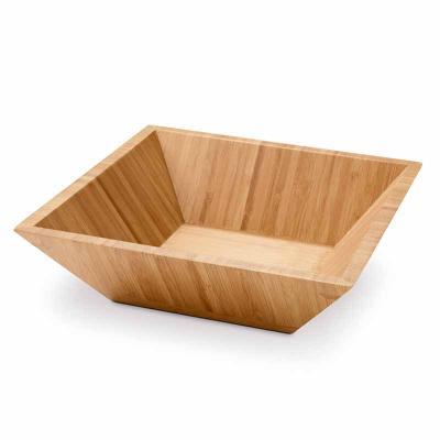 Saladeira. Bambu. 214 x 214 x 70 mm