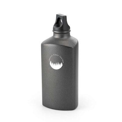 Squeeze. Alumínio. Com tampa em PP. Capacidade: 600 ml. Food grade. Caixa branca 94654 vendida op...