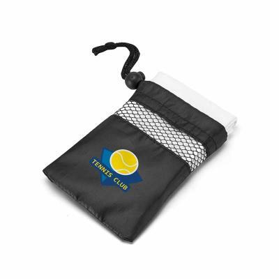 Toalha para esporte. 100% poliéster: 210 g/m². Fornecida com bolsa em 190T. 400 x 800 mm | Bolsa:...