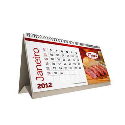 Calend rio de mesa personalizado portal free shop brindes - Calendario de mesa ...