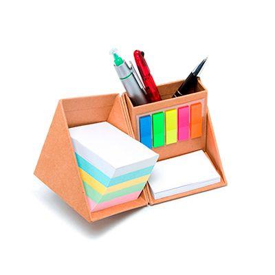 Agita Brindes - porta caneta com bloco de anotação