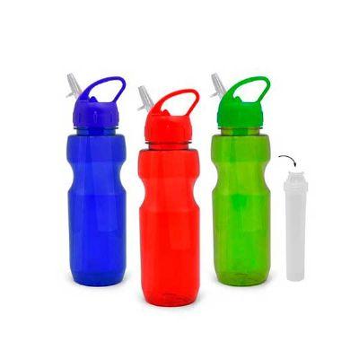 Agita Brindes - squeeze copo com canudo personalizado