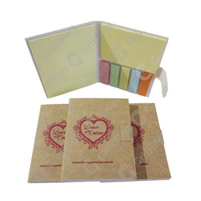 Caderno em papel cartão