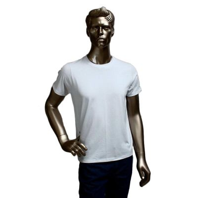 GriffiPett - Camiseta em malha penteada 100% algodão fio 30/1
