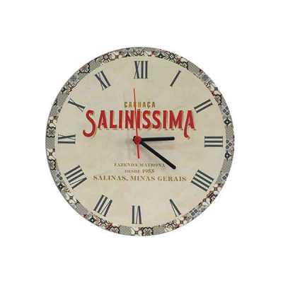 Relógio Ecológico em madeira 3mm