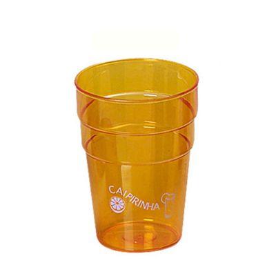 Santa Ana Design - Copo plástico de 250 ml promocional. Responsável pela economia de 200 copos descartáveis por mês. Fabricação própria.