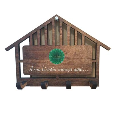 Santa Ana Design - Porta chaves personalizado.
