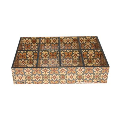 Caixa de madeira personalizada. - Santa Ana Design