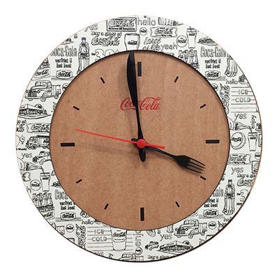 Relógio Duo de parede ecológico - Santa Ana Design