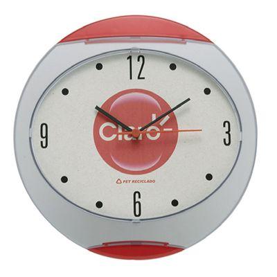 santa-ana-design - Relógio plástico personalizado.