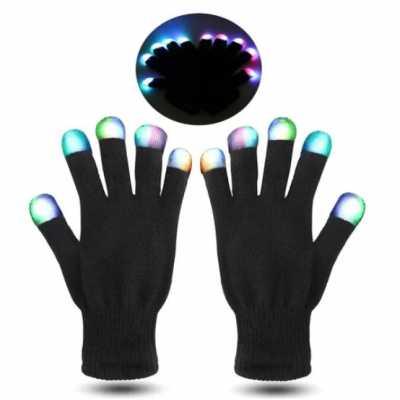 Par de Luva com LED - Hutz