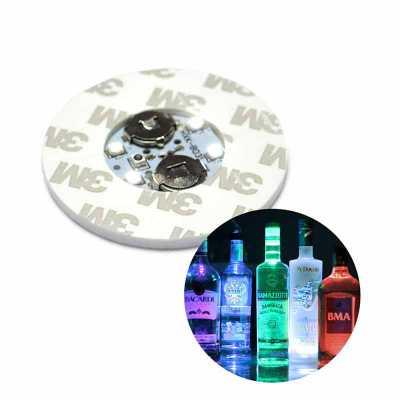 hutz - Base Porta-copos LED Adesivado para copos e garrafas