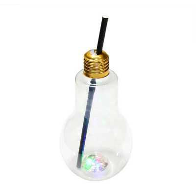 - Copo Lâmpada Bulbo com Luzes LED coloridas. Possui capacidade de 350ml e acompanha um canudo de papel preto. Ideal para servir drinks de maneira mais...